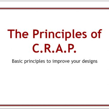 The Principles of C.R.A.P.