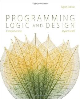 Good Reads: Programming Logic and Design, 8th Edition