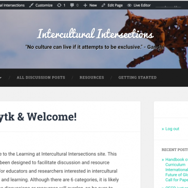 Intercultural Intersections