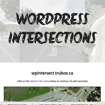 WordPress Intersections